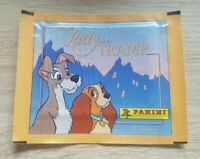 Panini 1 Tüte Lady and the Tramp Bustina Pack Sobre Pochette Sobre Walt Disney