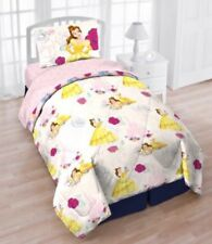 Beauty & The Beast Twin Bedding Bed In A Bag w/ Comforter & Sheet Set w/ Tote