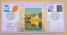 SCOTLAND 1ST PICTORIAL ISSUE 199 BENHAM FDC SIGNED BY POLITICIAN DAVID STEEL