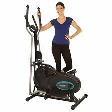 Elliptical Exercise Machine Indoor Fitness Heart Workout Home Gym Cardio Bike