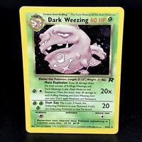 Dark Weezing Holo - Team Rocket 14/82 - WoTC Holo Rare Pokemon Card 2000