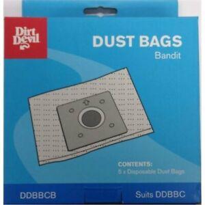 Dirt Devil Replacement Bandit Vacuum Bag - 5 Pack