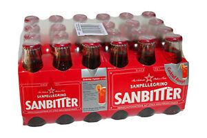 24 Flaschen San Pellegrino SANBITTER a´ 98ml