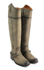 Ariat Two24 Womens Pamplona Riding Tall Boot Size 7.5 B Field Jacket Brown