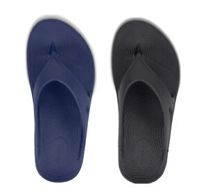 OOFOS OOriginal Unisex Recovery Sandal M9/W11  M10/W12  M4/W6 Navy or Black NEW