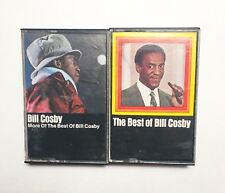 Bill Cosby Stand Up Comedy Cassettes Set of 2 - EUC Best of and More Of 1969  70