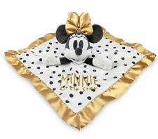 New Disney Minnie Mouse Snuggle Buddy Security Blanket Girls