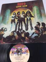 KISS Love Gun VINYL LP Casablanca NBLP 7057 Hard Rock 1977