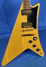 Vintage 1983 Gibson USA Korina Moderne Heritage Electric Guitar w/OHSC 7 lbs