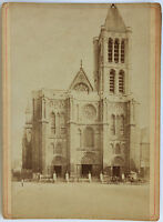 Abbaye Basilica Saint-Denis Vintage Albumina 1880