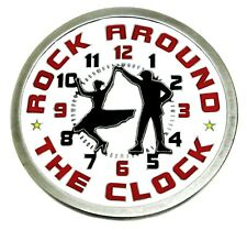 Americana Belt Buckle Music Themed Rock Around The Clock Authentic Product