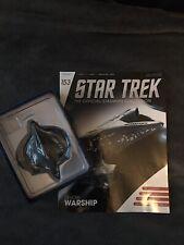 Eaglemoss Star Trek Starships Collection Devore Warship Ship Issue 153
