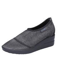 scarpe donna AGILE BY RUCOLINE 36 EU slip on nero tessuto BT429-36