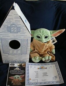 NEW Build-A-Bear The Child Yoda 5-in-1 Sounds & Mandalorian Theme Song Bundle