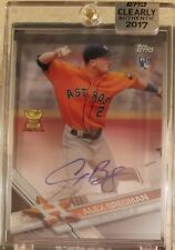 ALEX BREGMAN Rookie Auto Card - 2017 Topps Clearly Authentic Autograph