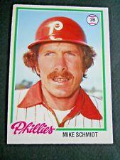 Mike Schmidt, 1978 O-Pee-Chee Baseball card # 225, Phillies, 3B