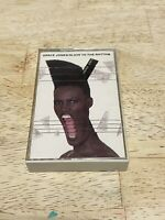 GRACE JONES SLAVE TO THE RHYTHM Cassette Tape 80s 90s Pop Dance Funk R&B