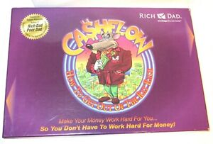 2010 Rich Dad Cashflow Investing 101 Board Game Complete Robert Kiyosaki
