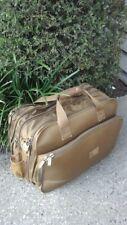 El Portal Classic Brown Luggage Bag