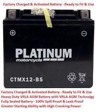 CTMX12-BS YTX12-BS VRLA AGM GEL Sealed Motorcycle Battery 12V 10AH 180A 1yr wnty