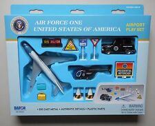 AIR FORCE ONE AIRPLANE AIRPORT PLAYSET TRUCK SIGNS ETC DARON TOYS DIECAST