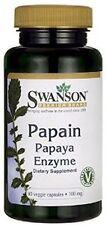 Papain Papaya Enzyme 100 mg x 90 Veg Caps ** AMAZING PRICE ** - 24HR DISPATCH
