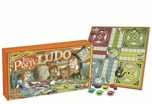 VINTAGE 1920S STYLE TEA PARTY LUDO BOARD GAME FAMILY FUN GREAT GIFT