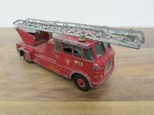 Vintage Lesney Matchbox King Size No. 15 Merryweather Fire Engine Diecast