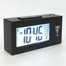 Big Digital Voice Control Back-Light ,Alarm,Date,Temperature projection Clock ne