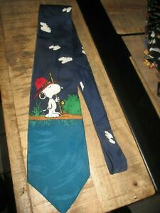 Ancienne cravate , collector- Snoopy scout-1958