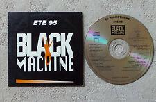 CD AUDIO INT/ VARIOUS ÉTÉ 95 BLACK MACHINE CD SAMPLER PROMO 6089 CARD SLEEVE