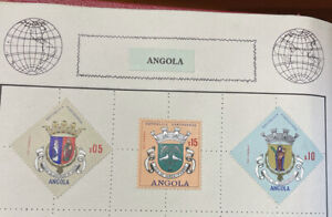 3 Large Angola Stamps