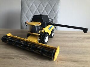 """New Ray New Holland Combine Farming Toy 12"""""""