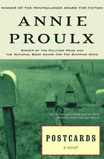 Postcards a novel by E. Annie Proulx a paperback book FREE SHIPPING Post cards