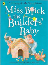 MISS BRICK BUILDERS BABY HAPPY FAMILIES Allan Ahlberg C McNaughton New paperback