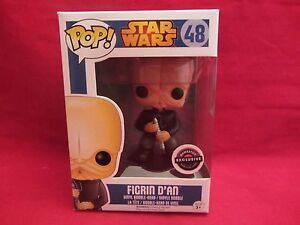Funko Pop! Star Wars FIGRIN D'AN  Gamestop Excl  #48  Vinyl Figurine (216HP)