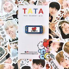 BTS BT21 Tata Nintendo Switch Enamel Pin