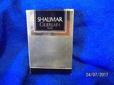 NEW VINTAGE SHALIMAR GUERLAIN  PARIS Eau De Cologne Perfume 1.7oz Bottle No. 304