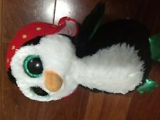 Ty Beanie Boo Freeze the Penguin Medium 10-inch Soft Plush