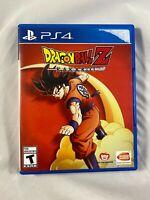 Dragon Ball Z: Kakarot (Sony PlayStation 4, 2020) PS4