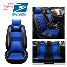 Luxury Universal Car Seat Cover Protector W/Headest+ Pillow+Cushion FULL KITs