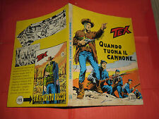 TEX GIGANTE da lire 200 in copertina N°114 c-ORIGINALE 1°EDIZIONE AUDACE BONELLI
