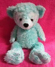 "Walt Disney World Pre Duffy Bear Aqua Mint Green Plush 16"""