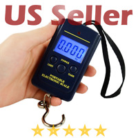 WTG 40kg/88lb Portable Digital Hanging Fishing Travel Luggage Weighing Scale