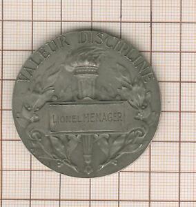 médaille argent, maréchal Foch médaillés militaires, par Prudhomme, L Ménager
