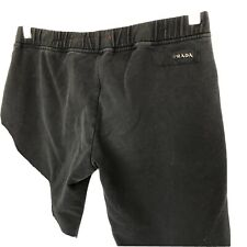 PRADA women's Black Cropped Leggings Size S