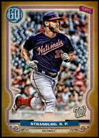 Stephen Strasburg 2020 Topps Gypsy Queen 5x7 Gold #285 /10 Nationals