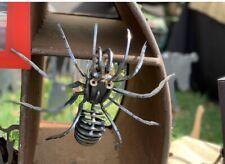 Laser Cut Corten Steel Art Garden Sculpture Spider Tarantula