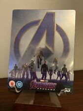 Avengers End Game Steelbook (3D/2D Blu-ray) Factory Sealed