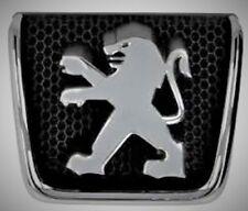 Original EMBLEME logo AVANT GRILLE PEUGEOT 307 01-08 NEUF